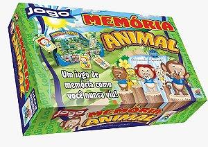 Jogo Educativo Infantil Memoria Animal Big Boy