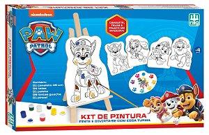 Jogo Infantil Brinquedo Kit Pintura Patrulha Canina