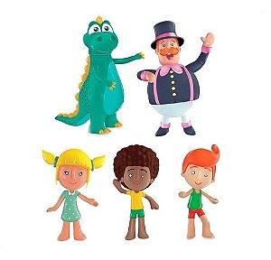 Família Bonecos Infantil Mundo Bita Vinil Lider Brinquedos