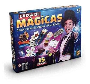 Jogo Caixas de Magicas Infantil 15 Truques Grow
