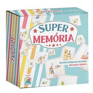 Jogo Infantil Divertido Super Memória 24 Cartas Big Boy