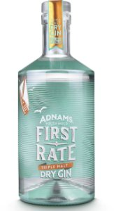 GIN ADNAMS FIRST RATE - DRY GIN - 700 ml