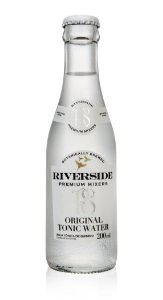 AGUA TONICA RIVERSIDE ORIGINAL - GARRAFA - 200 ML