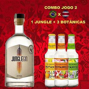 COMBO JOGO 2 JUNGLE + 3 TÔNICAS BOTÂNICA