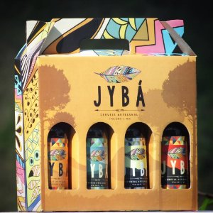 (4 UNIDADES) KIT 4 LONGNECKS 355ML JYBÁ