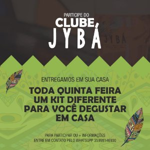 CLUBE JYBÁ - KIT NA SUA CASA TODA SEMANA (válido para ITAJUBÁ E REGIÃO)