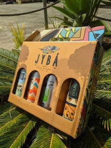 (4 UNIDADES) KIT 4 LATAS 473ML JYBÁ