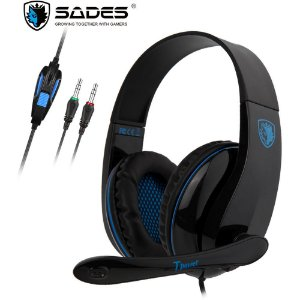 Fone Headset Gamer Sades Sa-701 Tpower