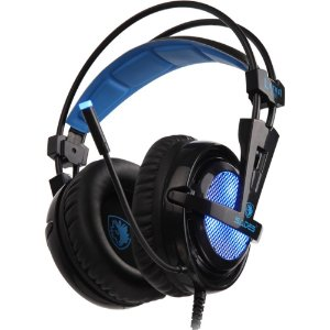 Fone Headset Gamer 7.1 Usb Sades Sa-904 Locust Plus