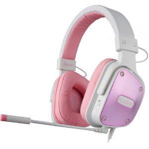 Fone Headset Gamer PS4 Xbox One Sades SA-722 Dpower Rosa