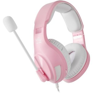 Fone Headset Gamer Ps4 Celular Xbox One Pc Nintendo Switch Sades A2 Rosa Angel Edition