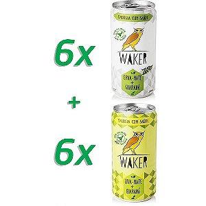 Combo: Waker Tradicional 06 unidades + Waker Zero 06 unidades