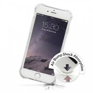 Case Anti Shock Air Bump para iPhone 7 Transparente