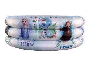 Piscina Infantil Inflável Frozen Disney 100l Etitoys