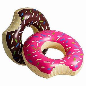 Boia Donut Infantil Morango ou Chocolate 60cm
