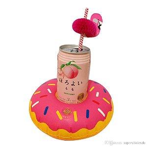 Porta Copo Inflável Donut
