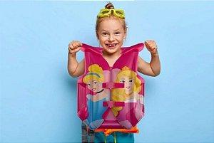 Colete Infantil Princesas Inflável