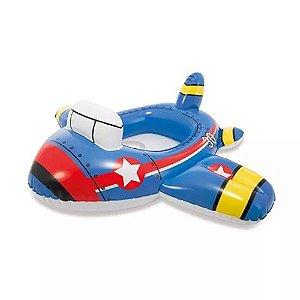 Boia Bote Avião Baby  Inflável