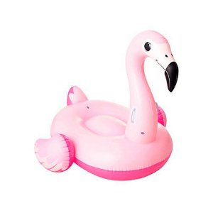 Boia Flamingo Infantil Bestway Rosa 145cm