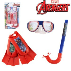 Kit Mergulho Avengers Marvel