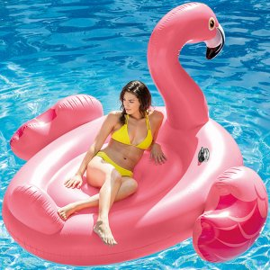 Boia Flamingo Adulto Gigante Intex 56288