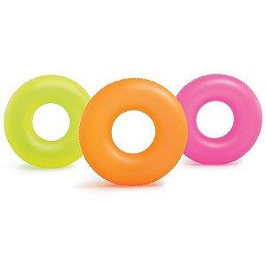 Boia Circular Neon Intex 91cm