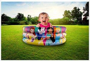 Piscina Infantil Inflável Princesas Disney 100l Etitoys