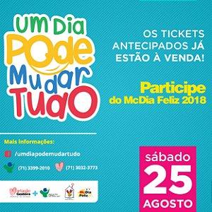 Ticket McDia Feliz 2018