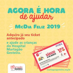 Ticket McDia Feliz 2019