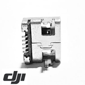 Conector USB porta Carga Controle Remoto  DJI Mavic Air - Mavic Pro - DJI Spark - DJI Mavic 2 Pro e Zoom