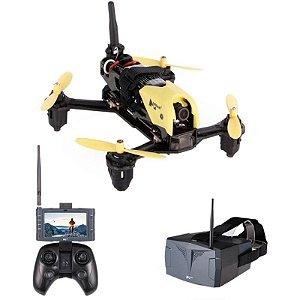 Drone Hubsan Storm X4 H122D com Câmera HD + Goggle + LCD Display