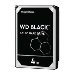 HD Interno 4tb Western Digital Black Sataiii 7200rpm 256mb Wd4005fzbx