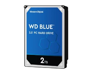 HD Interno 2tb 3,5 Western Digital Blue Sataiii 256mb Wd20ezaz