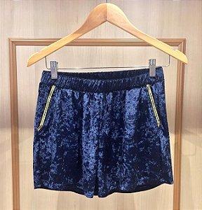 Shorts Veludo Molhado