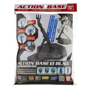 ACTION BASE 01 BLACK para 1/144 e 1/100
