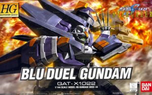 BLU DUEL GUNDAM - GUNDAM SEED HG 1/144