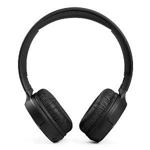 Fone De Ouvido JBL Tune 510 BT Sem Fio Bluetooth Pure Bass Até 40h Bateria Preto