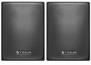 Caixa de Som Acústica Frahm PS 200 Plus 60W Rms Preta Par