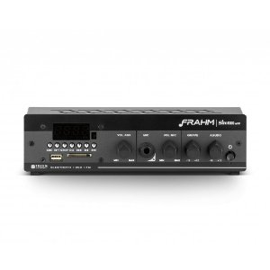 Amplificador Frahm Slim 1000 APP G2 Bluetooth USB SD FM