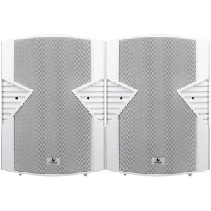 Caixa de Som Acústica Frahm PS 8S 140W Rms Branca Par