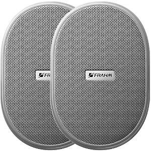 Caixa de Som Acústica Frahm PS 3 60W Rms Branca Par