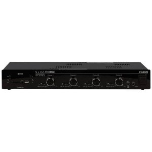 Amplificador Frahm Slim 4500 APP Multi-channel USB SD FM BT