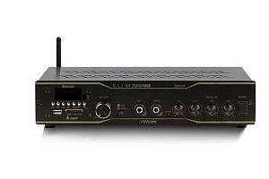 Amplificador Frahm Slim 3000 APP Optical USB SD FM BT