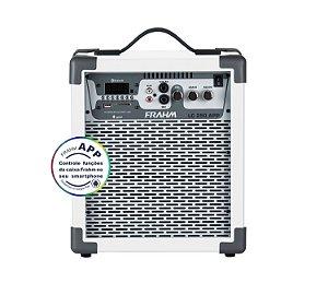 Caixa de Som Amplificada Multiuso Frahm LC 250 APP Branca