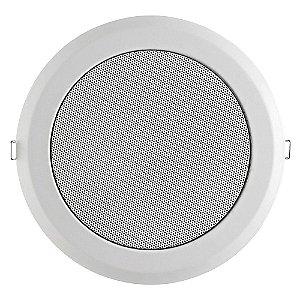 Arandela Frahm 6'' Coaxial Redonda Metálica 25W Rms