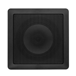 Arandela Loud 8'' Quadrada SQ8 100W 2 Vias Preta