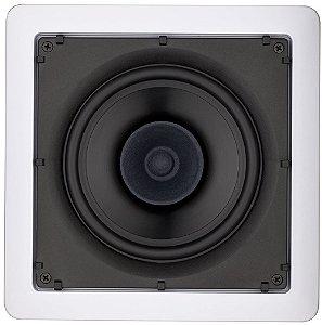 Arandela Loud 6'' Quadrada SQ6 PA 30W Branca