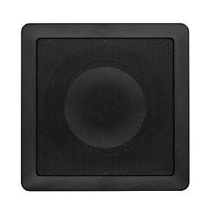 Arandela Loud 6'' Quadrada SQ6 100W 2 Vias Preta
