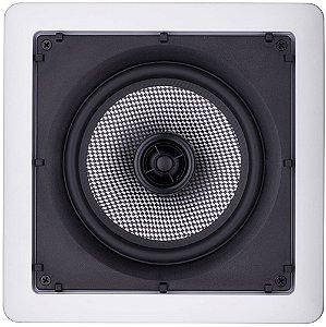 Arandela Loud 6'' Quadrada SQ6lx 100W 2 Vias Branca