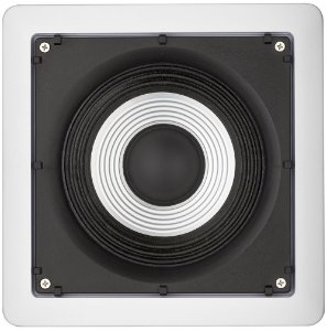 Arandela Loud 6'' Quadrada Marinizada SQ6 MR 100W Branca